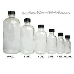 1/2 oz. Flint Boston Round Bottle with Cap