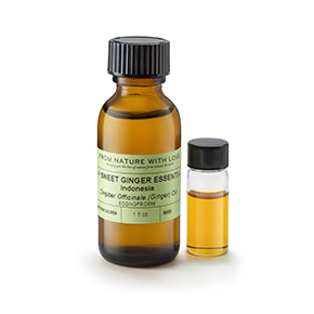 Fresh, Sweet Ginger Essential Oil, Indonesia