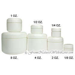 1 oz. Dome Cream Jar