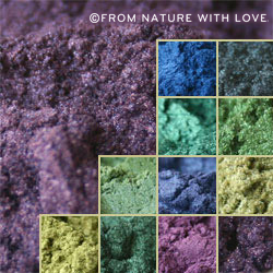 Blues/Greens/Purples Pearlescent Mica Sampler