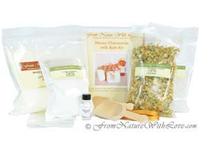 Milk Bath Craft Kit