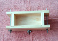2 lb. Collapsible Wooden Soap Mold