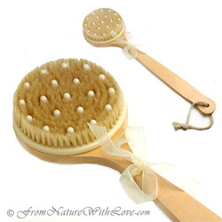 Cellulite Round Combo Bristle Brush