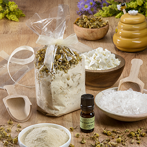 Honey Chamomile Milk Bath Kit