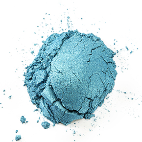 Two Tone Blue Green Mica Powder