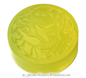Kelly Green Glycerin Melt and Pour Soap Base