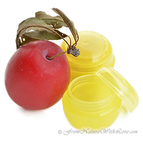Yellow Mini Lip Balm Pot