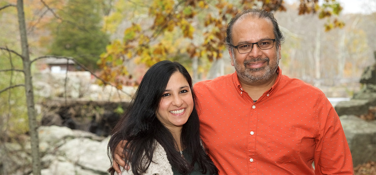 From Nature With Love Co-Founders Anáil Mitra, CEO and Jay Basu, COO