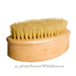 Oval Body Brush