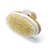 Oval Bamboo Bath Brush with Strap