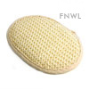 Oval Sisal Pad With Natural Trim
